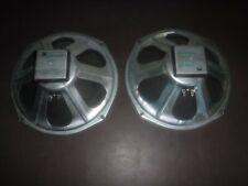 2 Nice Vintage 1968 Magnavox 12 inch Woofer Matching Speakers 581211 137 6850D