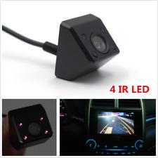 Black 170° CCD Car Rear View Camera Revese Backup Parking 4 IR LED Night Vision