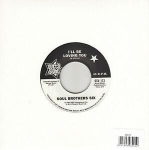 """SOUL BROTHERS SIX I'LL BE LOVING YOU 7""""  MINT REISSUE"""