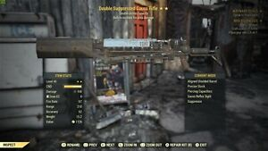 PC Fallout 76 Double Explosive Gauss Rifle (Very rare legacy) 2🌟🔥🔥🔥