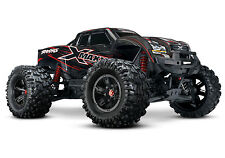 Traxxas 77086-4, X-Maxx 8S 4WD Brushless Monster Truck w/TSM /Radio - Black/Red