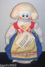 "Vintage Legacy Dolls 21"" KERSTIN Swedish Soft Sculp Rag Doll In National Costume"