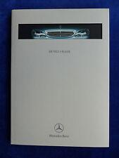 MERCEDES-BENZ CLASSE S w220-Hardcover prospetto brochure 09.1998
