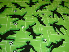 Fußball  Ball  Sport  Soccer  scoore   Baumwolle  Patchworkstoff