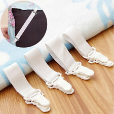 4Pcs Bed Sheet Fixed Grippers Clip Holder Fasteners Set Non-slip Elastic Bed Usa