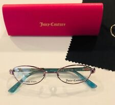 7c03373589 Girls Eyeglasses Juicy Golden 46-16 Lavender New with Case  Cleaning Cloth