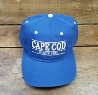 NWT CAPE COD SINCE 1637 Baseball Cap Hat Strapback NEW by The Game (D)