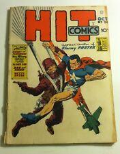 QUALITY COMICS OCTOBER 1942 HIT COMICS #24