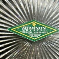 Shannon Crystal Designs of Ireland Slovakia New with Tag Set of 6 Salad Plates