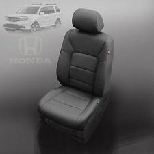 BLACK KATZKIN LEATHER INTERIOR SEAT COVER FIT 2009 2010 2011 HONDA PILOT EX