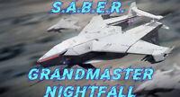 S.A.B.E.R. Saber Grandmaster Nightfall Complete/Farm PC/Crossave