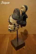 Queen of women Eze Nwanyi Izzi Igbo Tribal Mask Nigeria Africa Model