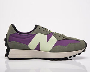 New Balance 327 Men's Sour Grape Bleached Lime Lifestyle Shoes Casual Sneakers