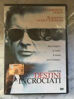 DESTINI INCROCIATI - HARRISON FORD - DVD nuovo SIGILLATO new SEALED - DC 15520