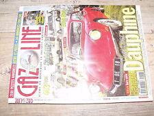 µµ Gazoline n°56 Dauphine coupé Laudat 403 diesel Karmann-Ghia Eden Roc
