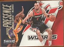 2014-15 MARCIN GORTAT PANINI THREADS INSIDE PRESENCE INSERT NBA CARD MINT RARE!