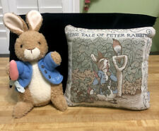 Peter Rabbit 1999 Beatrix Potter Collection Frederick Warne Tapestry Pillow Lot