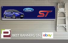 Mk7 Ford FIESTA ST banner per Officina, Garage, ufficio, showroom, Recaro ecc.