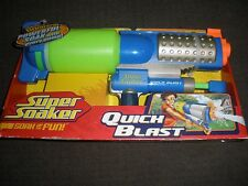 Brand New NERF Style 2008 SUPER Soaker QUICK BLAST Blaster ~ Water Pistol RARE