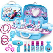 Disney Frozen Elsa And Anna Makeup Set Fashion Dresser Toy Beauty -FREE SHIPPING