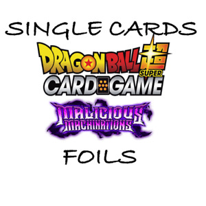 Dragon Ball Super Card Game - Singles - Malicious Machinations - FOILS