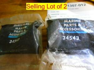 34543 lot of Two Oil Filter Bi-Pass Valve Mercury OEM Factory Part
