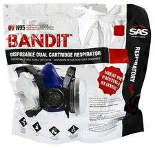 Sas Safety Bandit Disposable Dual Cartridge Resp. (8661-92)-Medium