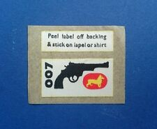 Corgi James Bond 261 agent secret lapel badge-Comme neuf-EX Shop Stock