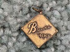 1970s Atlanta Braves 400 Club Baseball Pendant