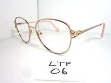 Vtg 80s CHARMANT Titanium Eyeglass Frame Pink EO 7908 Womens Japan (LTP-06)