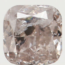 Natural Loose Diamond Cushion I2 Clarity Brown Color 2.70 MM 0.12 Ct KR914