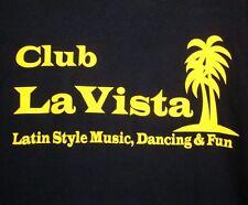 LA VISTA longsleeve Latin Club XL tee merengue salsa Toledo T shirt bachata Ohio