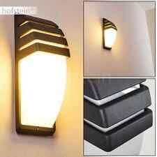 Design Wand Leuchte Garagen Einfahrt Außen Lampe Anthrazit