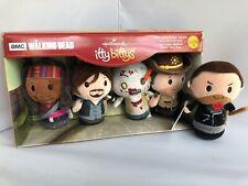 Walking Dead Collector Set Hallmark itty bittys Rick Michonne Walker Daryl Negan