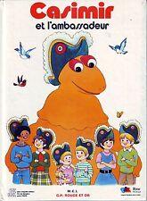 Casimir et l'Ambassadeur * IZARD album G.P. rouge et Or *  french book livre