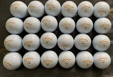 Rare Callaway Golf Japan Legacy Aero 5 Piece Golf Balls Gold Ltr 2 Doz Loose NOS