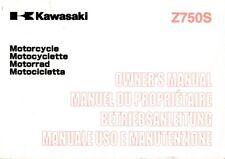 KAWASAKI z750 z750s zr750j manuale di istruzioni manuale Conducente 99976-1224