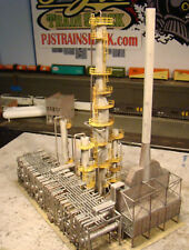 HO Scale Building Walthers North Island Refinery Built Painted Weathered