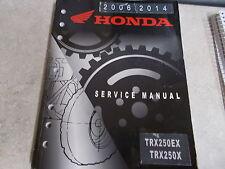 NOS OEM Honda Service Manual 2006-20014 TRX250EX 23 Chapters WPG1400-2007-05
