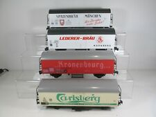 4 x Lima O Gauge LWB Refrigerated Wagons