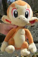 Pokemon Diamond ~ CHIMCHAR ~ 12 Inches Tomy Plush Stuffed Animal Doll Toy