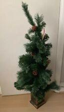 4ft Christmas Tree Faux Pot Acorn Berrys Decoration New Wilko Tag