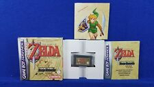 Gameboy Advance ZELDA A Link to the Past Four Swords*x BOXED COMPLETE GBA PAL UK