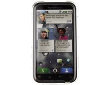 Reinforced Plastic Phone Protector Case Transparent Clear For Motorola DEFY