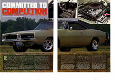 1969 DODGE CHARGER R/T 440 (MODIFIED) ~  NICE 3-PAGE ARTICLE / AD