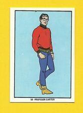 Micro Ventures Professor Carter 1970s Hanna Barbera Cartoon Card from Spain