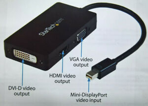 MDP2VGDVHD StarTech.com MDP TO VGA /DVI/HDMI CONVERTER MAC MINI DISPLAYPORT ADA
