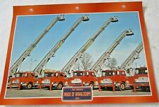 Trucks Maxi Card Fire Engine - 1974 Mack CF Aerialscope