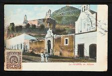 MEXICO 122-PUEBLA -La Piramida de Atlixco   (Undivided BacK)