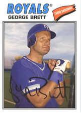 2018 Topps Archives Baseball #169 George Brett Kansas City Royals